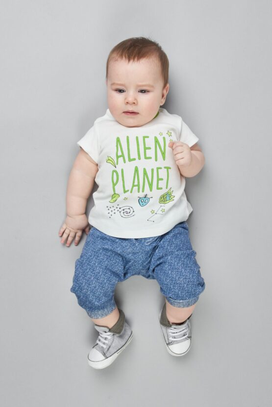 Джемпер — футболка с принтом