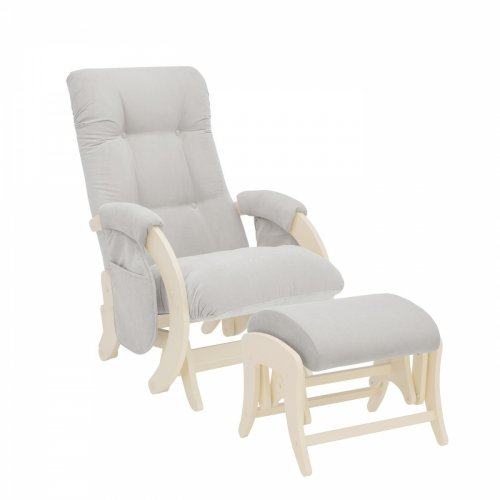 Комплект, Кресло для кормления и укачивания Milli Smile (С карманами)