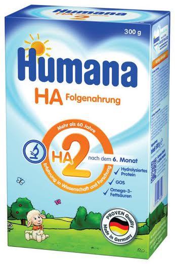 Гипоаллергенная молочная смесь HA2