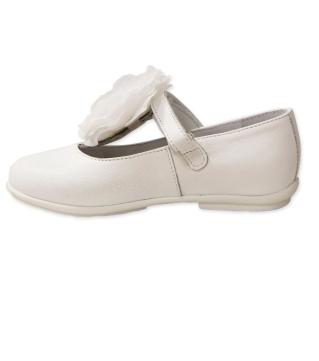 Нарядные туфли с цветком