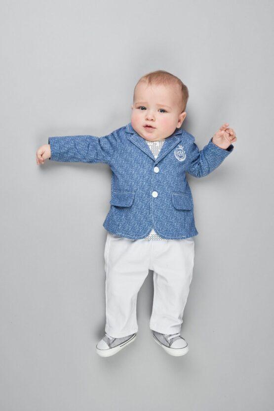 Брюки-джинсы, белый,д.мал.