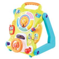 Интерактивная развивающая игрушка IQ-Center  зеленый/голубой/оранжевый