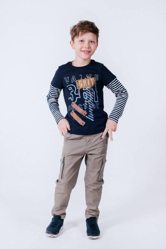 Брюки-карго для мальчика