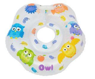 Круг на шею для купания малышей OWL