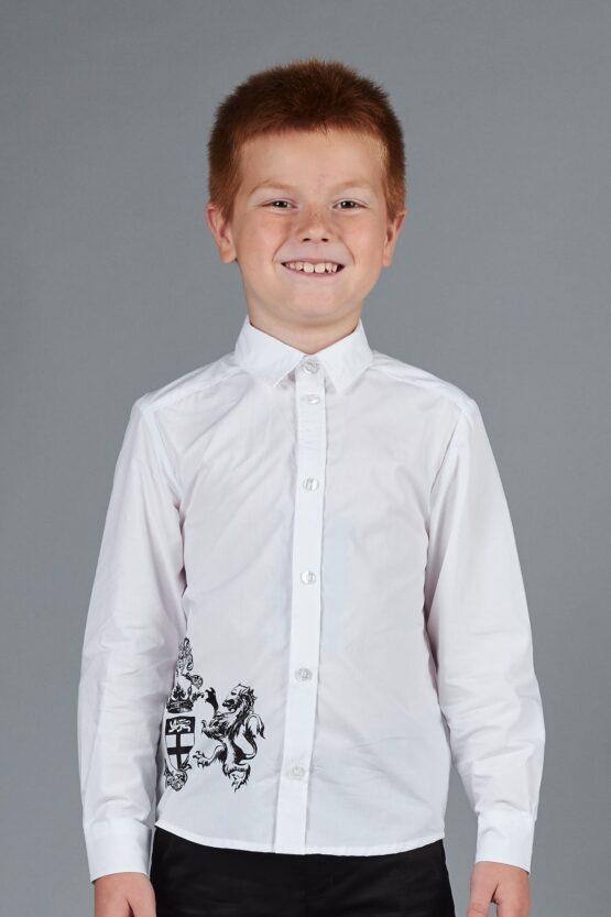 Рубашка классическая для мальчика