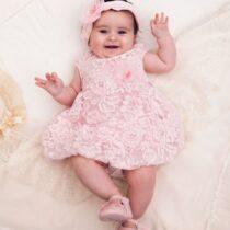 Платье-баллон нарядное кружевное для девочки