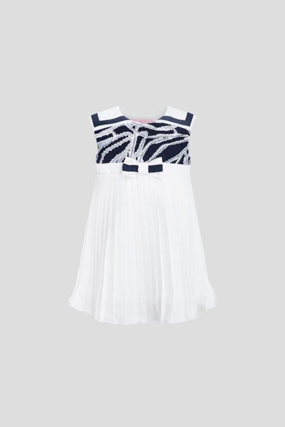 Платье нарядное, плиссе