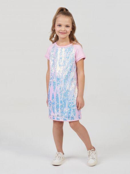 Платье нарядное из пайеток