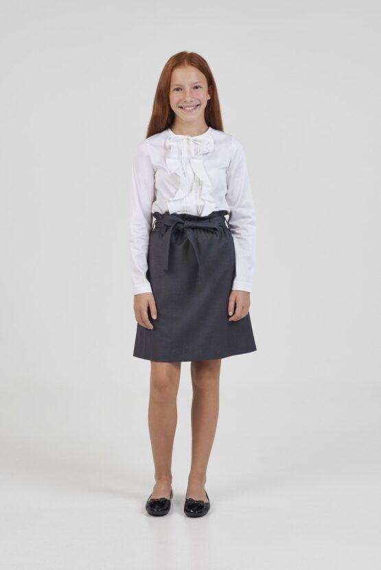 Блузка нарядная с оборками
