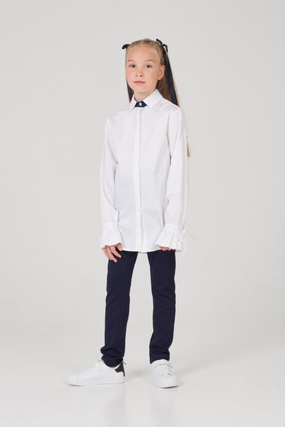 Блузка удлиненная для девочки