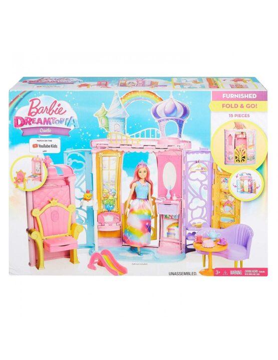 Переносной радужный дворец и кукла