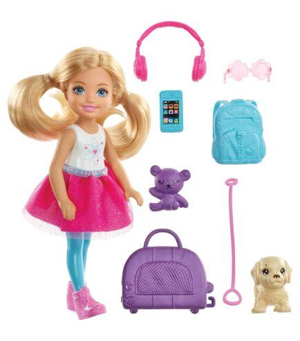 Ճամփորդական հավաքածու և տիկնիկ Barbie